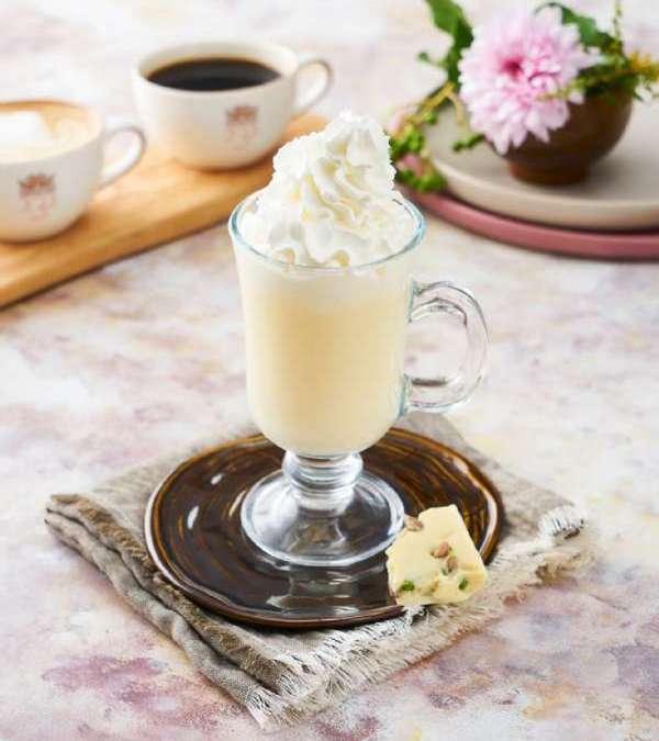 Fındıklı Beyaz Sıcak Çikolata